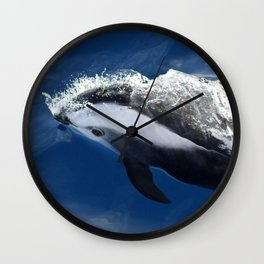 Hourglass Dolphin, Too Wall Clock