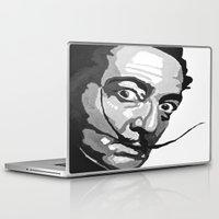 salvador dali Laptop & iPad Skins featuring Salvador Dali by Frankie Luna III