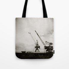 { dancing cranes } Tote Bag