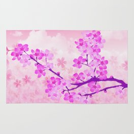 Cherry Blossom - Variation 4 Rug