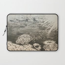 MoonSea EcoSystem Black and White Laptop Sleeve