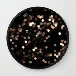 Rhapsodic Bokeh Effect Wall Clock