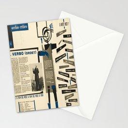 Retro occhio critico il verbo ordet Stationery Cards