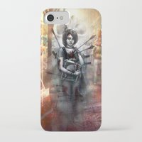 depression iPhone & iPod Cases featuring Depression by Mitul Mistry