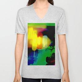Light Beam 1, from Mickeys Art And Design Unisex V-Neck