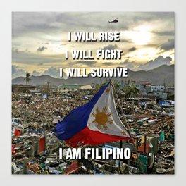 Survive Filipino Canvas Print