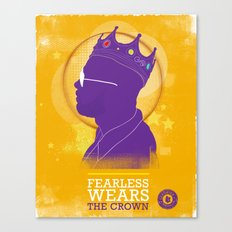 FEARLESS: Wears The Crown Canvas Print