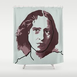 George Eliot Shower Curtain