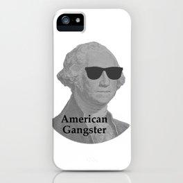 George Washington Cool Sunglasses American Gangster iPhone Case