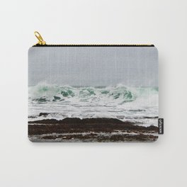 Green Wave Breaking Carry-All Pouch
