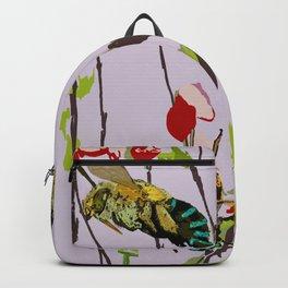 Blue Banded Bee Amegilla cingulata Backpack