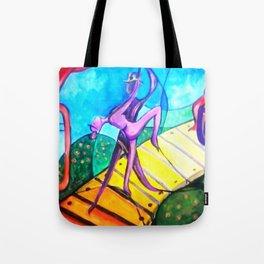 Love Dance Tote Bag