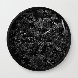 Somber Wall Clock
