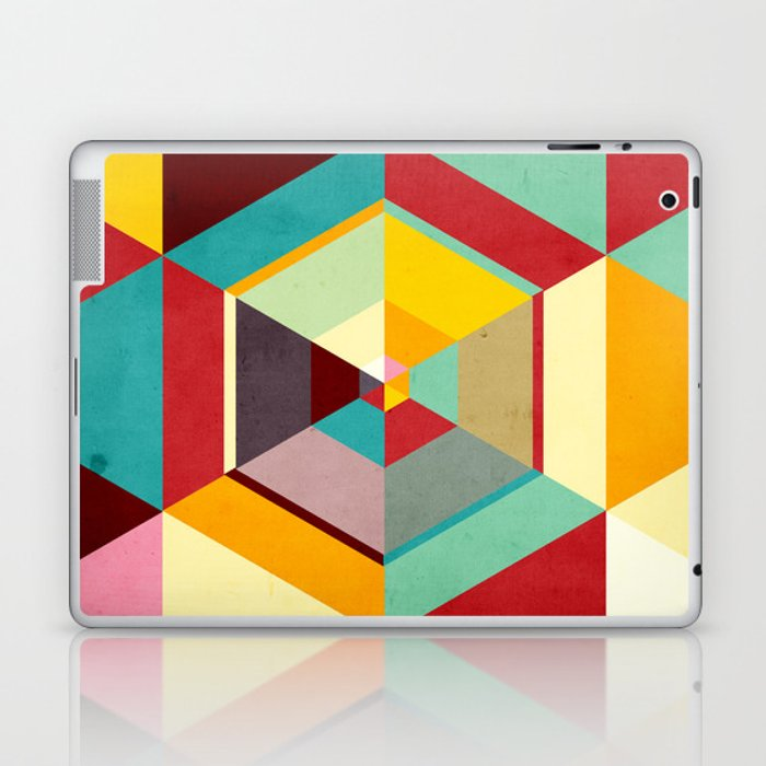 Color Mess Laptop & iPad Skin