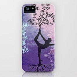 Mandala Tree Woman iPhone Case