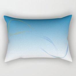 Land to Sea - Water Rectangular Pillow