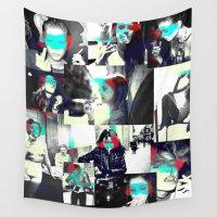 smoke Wall Tapestries featuring Smoke by victorygarlic