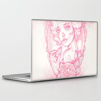 drink Laptop & iPad Skins featuring Drink Me by Satangelica