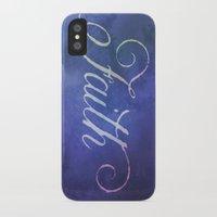 faith iPhone & iPod Cases featuring Faith by Camille