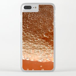Boiling an egg Clear iPhone Case