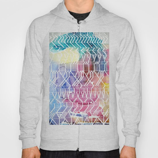 colorful Indians Hoody