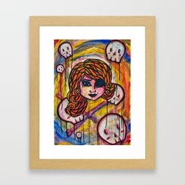 Pirate Lass II Framed Art Print