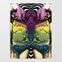 Vulture (Debbie Harry of Blondie) pop art Poster