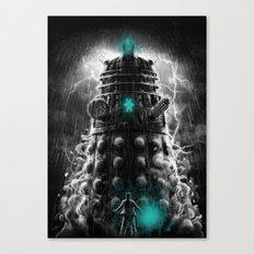 Shadow Of The Dalek Canvas Print
