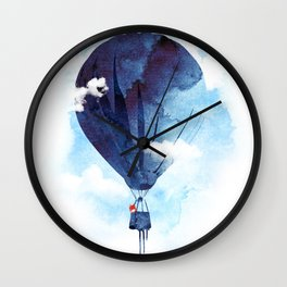 Bye Bye Balloon Wall Clock