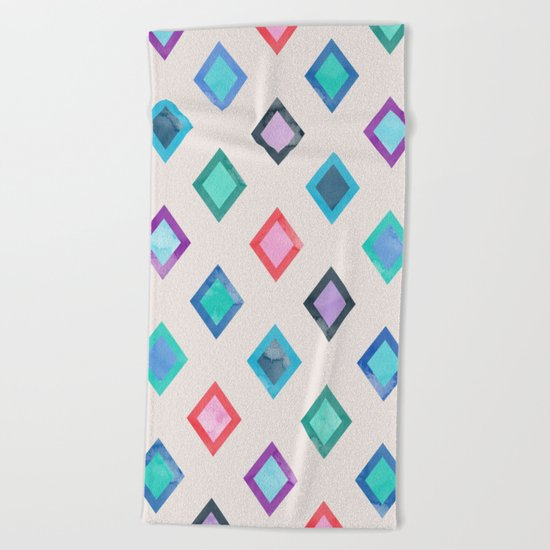 Lovely Pattern IV Beach Towel