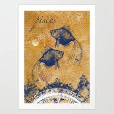 pisces | fische Art Print