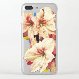 Amaryllis Clear iPhone Case