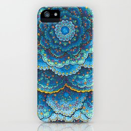 Birthday Mandala iPhone Case