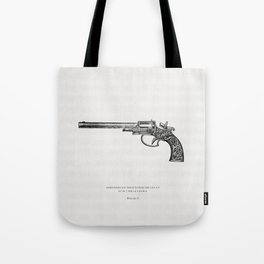 The handgun Tote Bag