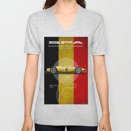 Spa Racetrack Vintage Unisex V-Neck