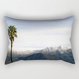 Southern California Snow Rectangular Pillow
