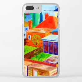 Suburbia Australian Style Clear iPhone Case
