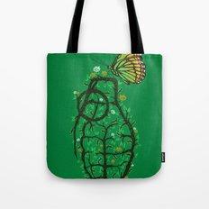 create & destroy Tote Bag