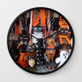 Halloween Magic Wall Clock