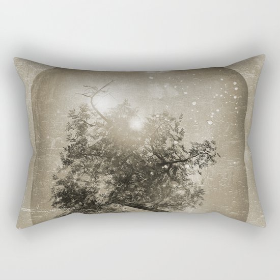 Saving Nature. Rectangular Pillow