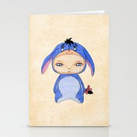 eeyore Stationery Cards featuring A Boy - Eeyore by Christophe Chiozzi