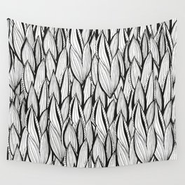 Abstract Leaves Wall Tapestry