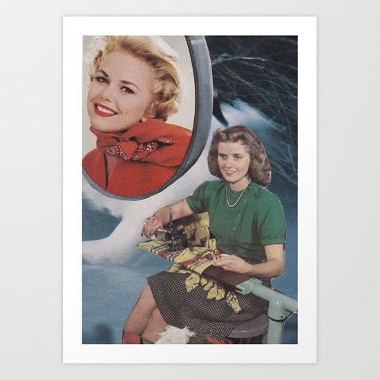 Collage No.55 Art Print