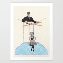 Strings Attached #5 Art Print