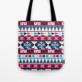 Aztec Geometric Pattern Tote Bag