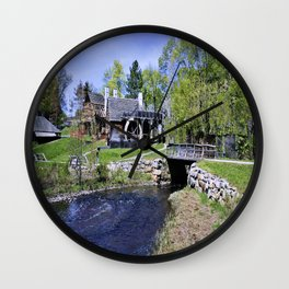 Historic New England Wall Clock
