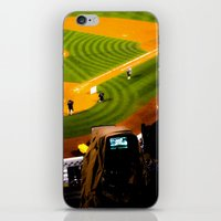 steelers iPhone & iPod Skins featuring Behind the scenes by Stu Naranch