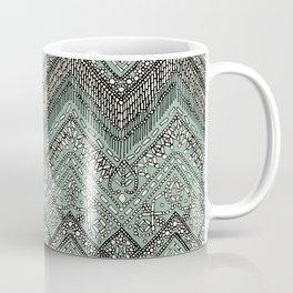 beaded chevron mint Coffee Mug