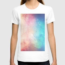 Fire and Ice - Watercolor Painting T-shirt