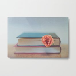 Summer Reading Metal Print